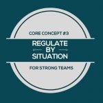 Image that says Regulate By Situation