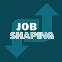 Job Shaping on top of image of morphing arrows