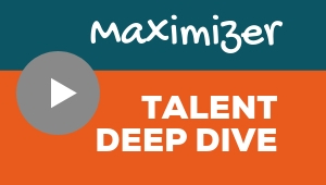 Image showing a video player with Maximizer talent theme deep dive