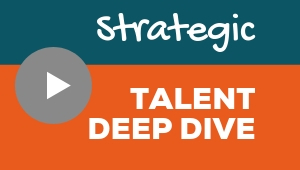 Image showing a video player with Strategic talent theme deep dive