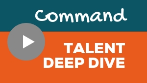 Image showing a video player with Command talent theme deep dive