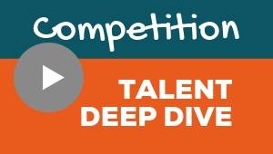 Image showing a video player with Competition talent theme deep dive