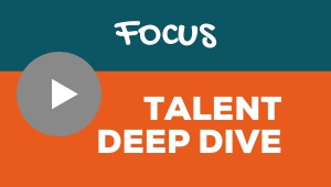 Image showing a video player with Focus talent theme deep dive