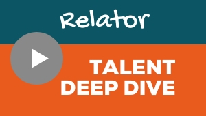 Image showing a video player with Relator talent theme deep dive
