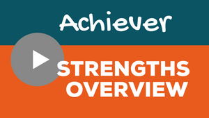 Clifton Strengths Achiever Video