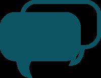 Icon Representing Conversation Bubbles