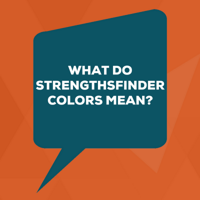 What do StrengthsFinder Colors Mean?
