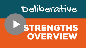 Clifton Strengths Deliberative Video