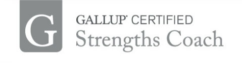 We are Gallup Certified Strengths Performance Coaches - we use this primarily to deliver StrengthsFinder Virtual Training events (aka CliftonStrengths Virtual Training). This badge shows the certification stamp.