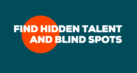 A Model For Finding Blind Spots & Hidden Talents On Your Team