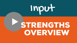 Clifton Strengths Input Video