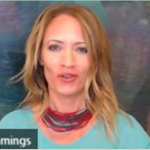 Image of the camera feed: Lisa Cummings Delivering Virtual Training