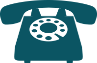 Icon Showing Old School Rotary Phone